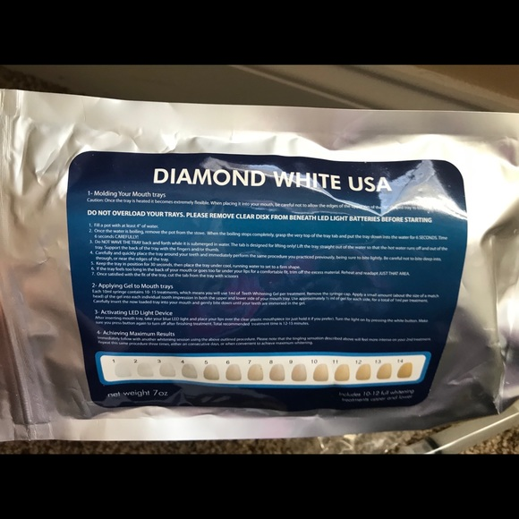 Diamond White Usa >> Diamond White Usa Teeth Whitening Kit